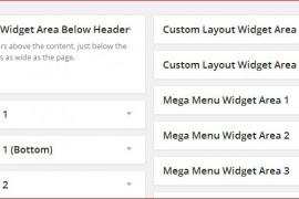 Adding new widget areas in Suffusion