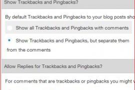 Trackbacks in Suffusion